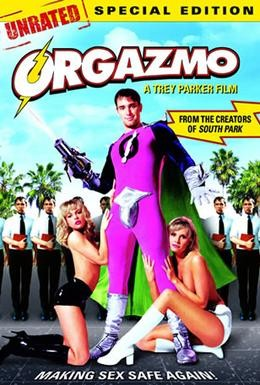 Постер фильма Капитан Оргазмо (1997)