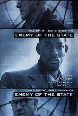 Постер фильма Враг государства (1998)