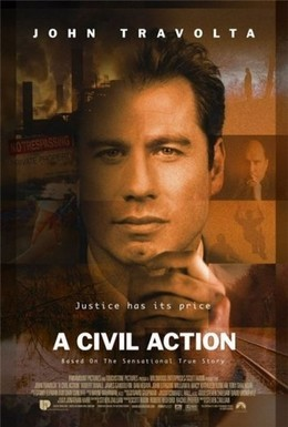 Постер фильма Гражданский иск (1998)