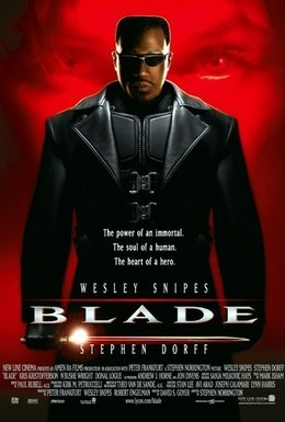 Постер фильма Блэйд (1998)