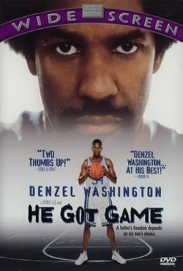 Постер фильма Его игра (1998)