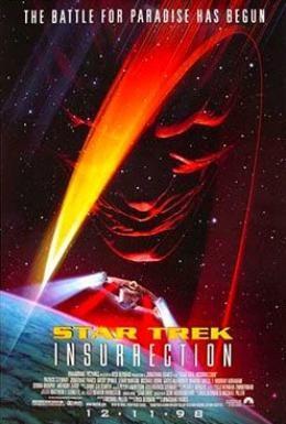 Постер фильма Звездный путь: Восстание (1998)
