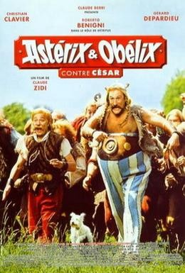Постер фильма Астерикс и Обеликс против Цезаря (1999)