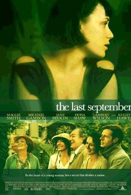 Постер фильма Последний сентябрь (1999)
