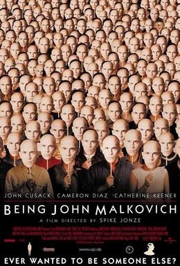 Постер фильма Быть Джоном Малковичем (1999)