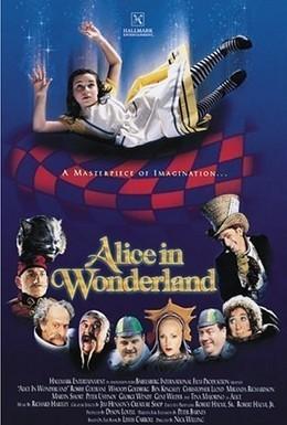 Постер фильма Алиса в стране чудес (1999)
