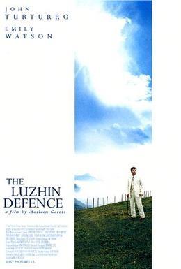 Постер фильма Защита Лужина (2000)