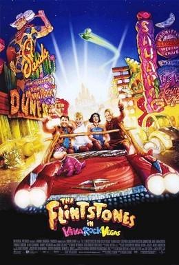 Постер фильма Флинтстоуны в Рок-Вегасе (2000)