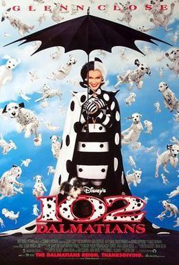 Постер фильма 102 далматинца (2000)