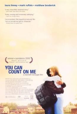 Постер фильма Можешь рассчитывать на меня (2000)