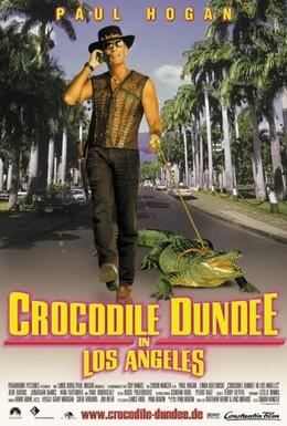 Постер фильма Крокодил Данди в Лос-Анджелесе (2001)