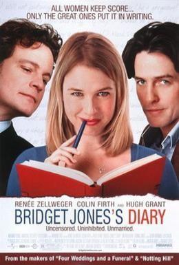 Постер фильма Дневник Бриджет Джонс (2001)