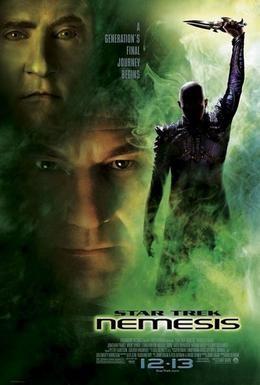Постер фильма Звездный путь: Возмездие (2002)