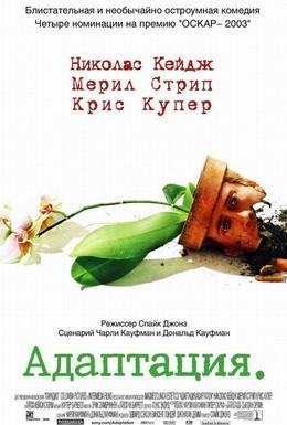 Постер фильма Адаптация (2002)