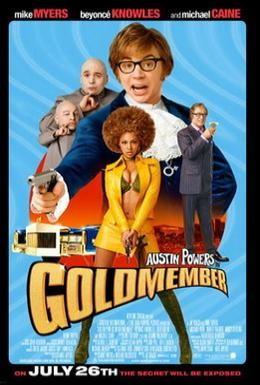 Постер фильма Остин Пауэрс: Голдмембер (2002)