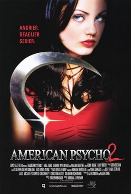 Постер фильма Американский психопат 2: Стопроцентная американка (2002)
