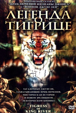 Постер фильма Легенда о тигрице (2002)