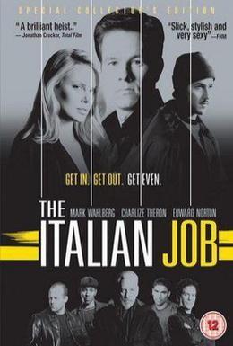 Постер фильма Ограбление по-итальянски (2003)
