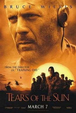 Постер фильма Слезы солнца (2003)
