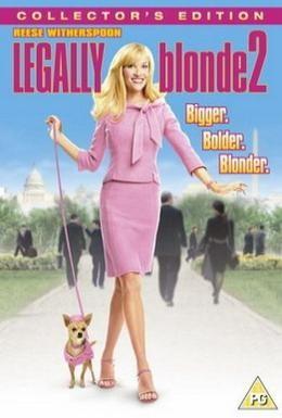 Постер фильма Блондинка в законе 2: Красное, белое и блондинка (2003)