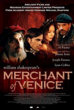 Постер фильма Венецианский купец (2004)