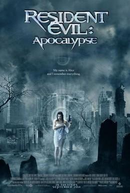 Постер фильма Обитель зла 2: Апокалипсис (2004)