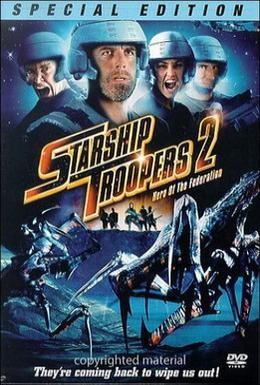 Постер фильма Звёздный десант 2: Герой федерации (2004)