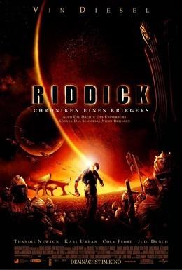 Постер фильма Хроники Риддика (2004)