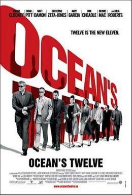 Постер фильма Двенадцать друзей Оушена (2004)