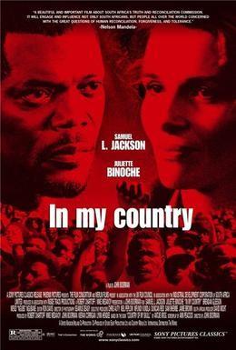 Постер фильма В моей стране (2004)