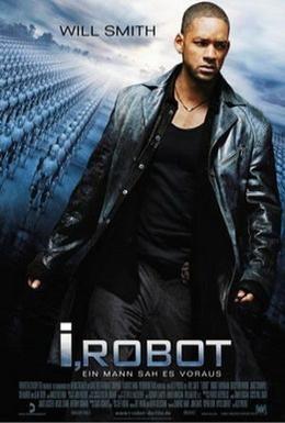 Постер фильма Я, робот (2004)