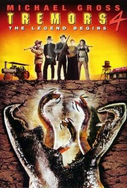 Постер фильма Дрожь земли 4: Легенда начинается (2004)