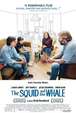 Постер фильма Кальмар и кит (2005)