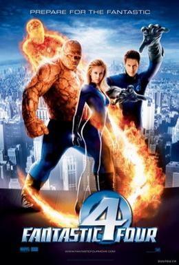 Постер фильма Фантастическая четвёрка (2005)