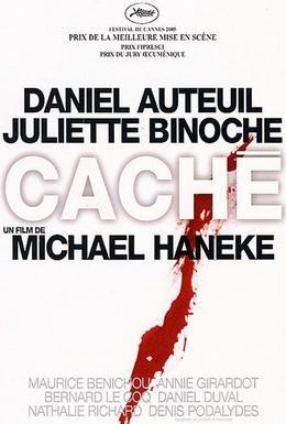 Постер фильма Скрытое (2005)