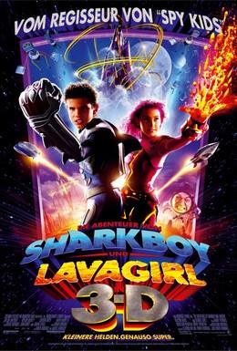 Постер фильма Приключения Шаркбоя и Лавы (2005)