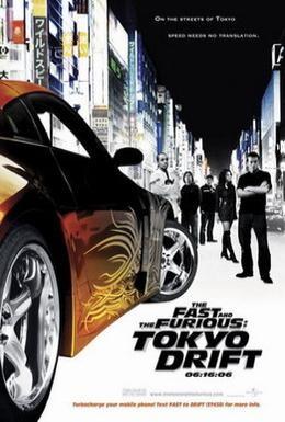 Постер фильма Тройной форсаж: Токийский дрифт (2006)