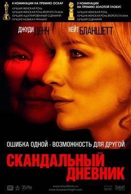 Постер фильма Скандальный дневник (2006)