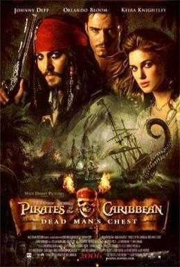 Постер фильма Пираты Карибского моря: Сундук мертвеца (2006)