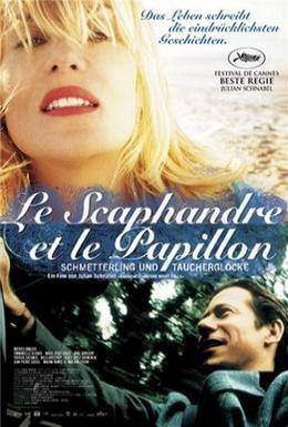 Постер фильма Скафандр и бабочка (2007)