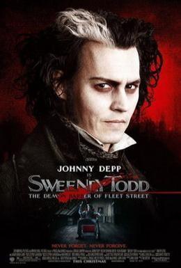 Постер фильма Суини Тодд, демон-парикмахер с Флит-стрит (2007)