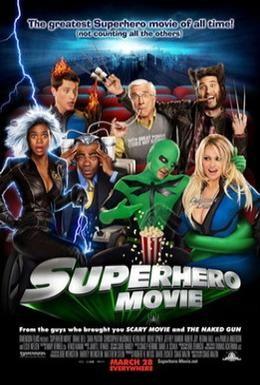 Постер фильма Супергеройское кино (2008)