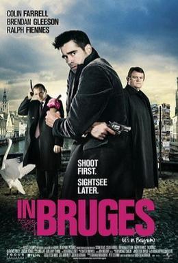 Постер фильма Залечь на дно в Брюгге (2008)