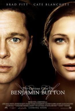 Постер фильма Загадочная история Бенджамина Баттона (2008)