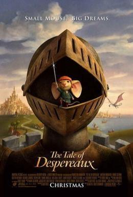 Постер фильма Приключения Десперо (2008)