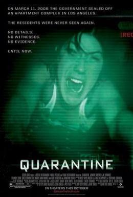 Постер фильма Карантин (2008)