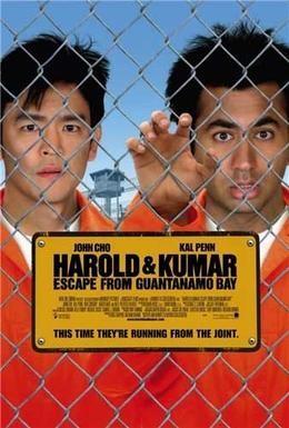 Постер фильма Гарольд и Кумар: Побег из Гуантанамо (2008)