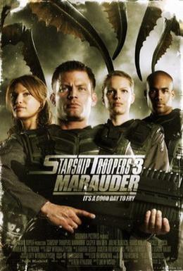 Постер фильма Звездный десант 3: Мародер (2008)