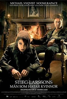 Постер фильма Девушка с татуировкой дракона (2009)