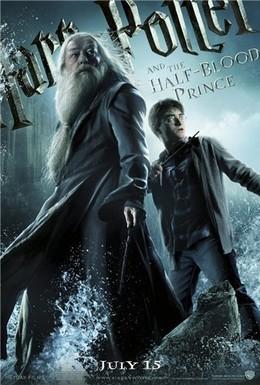 Постер фильма Гарри Поттер и Принц-полукровка (2009)